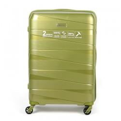 Куфар Естил, модел Arrows зелен - 77см