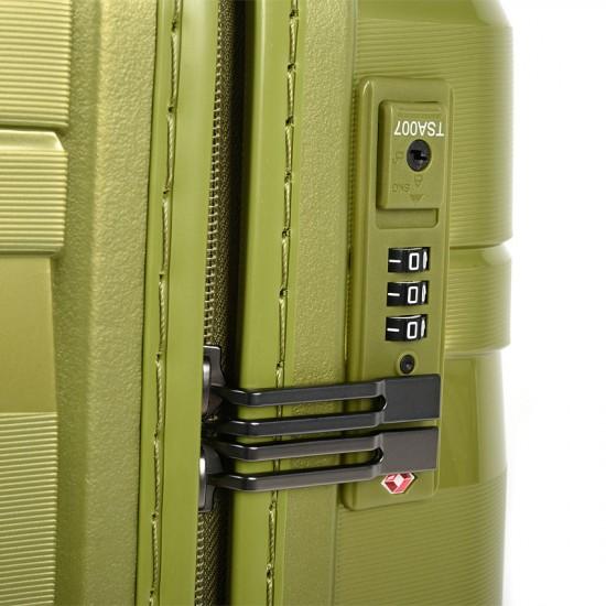 Куфар Естил, модел Arrows зелен - 55см