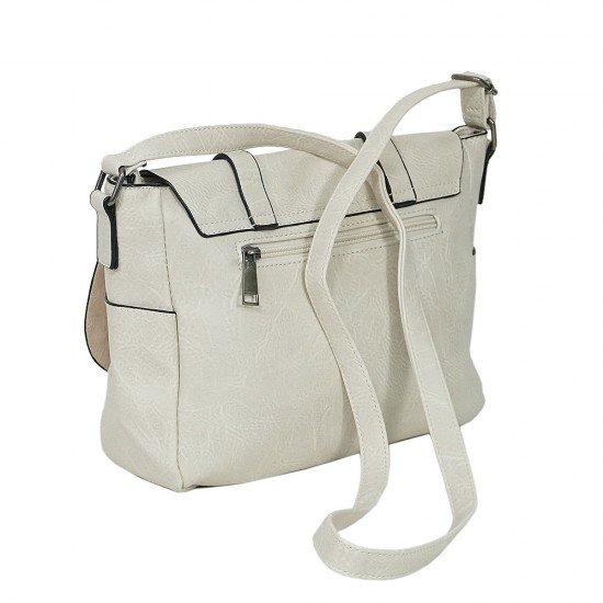 Чанта с дълга дръжка 1190 светло бежова