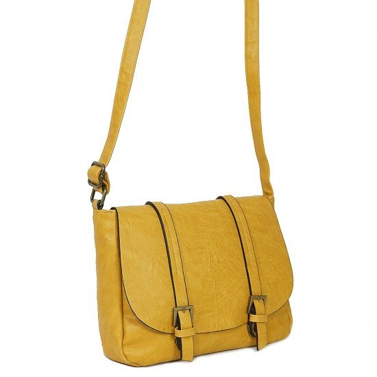 Чанта с дълга дръжка 1190 жълта