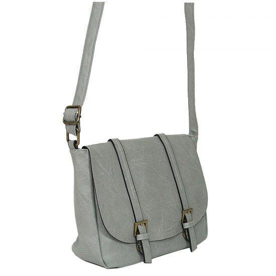 Чанта с дълга дръжка 1190 светло сива