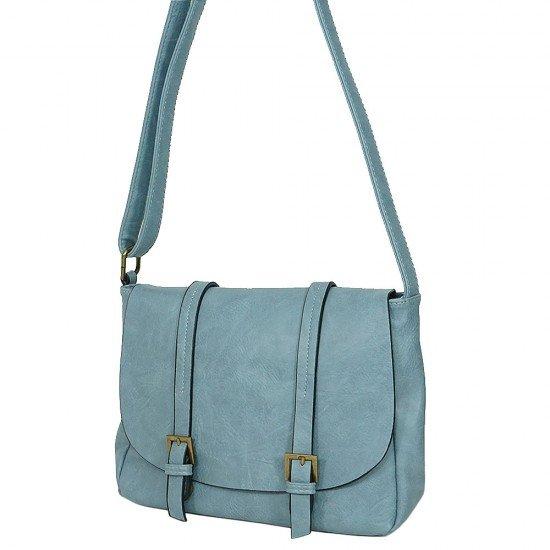 Чанта с дълга дръжка 1190 светло синя