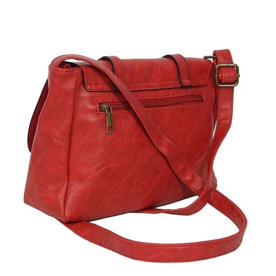 Чанта с дълга дръжка 1190 червена