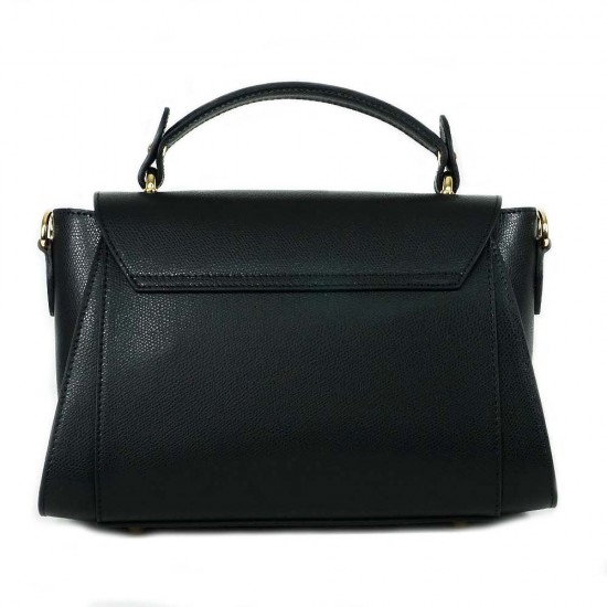 Чанта естествена кожа 5862blue