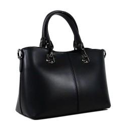 Чанта естествена кожа 223black
