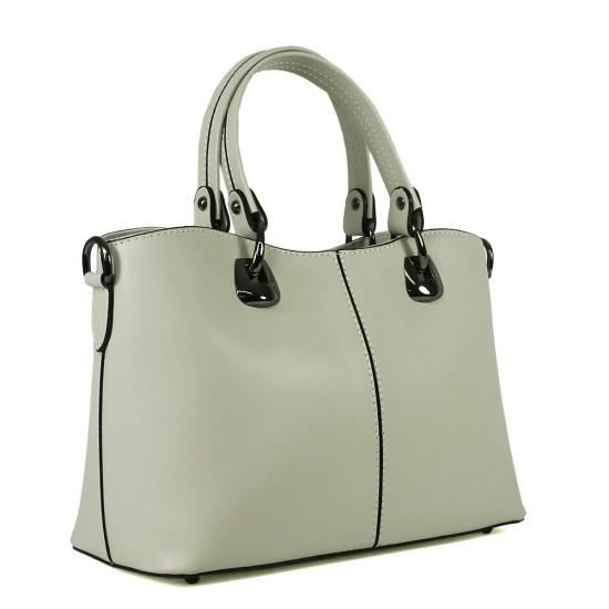 Чанта естествена кожа 223beige
