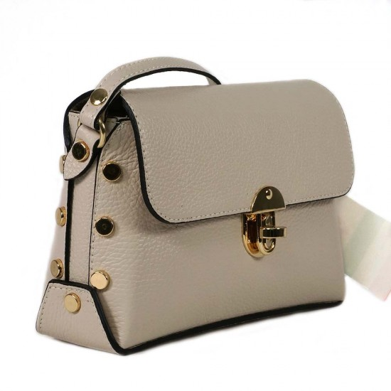 Чанта естествена кожа 5832beige