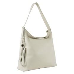 Чанта естествена кожа 117beige