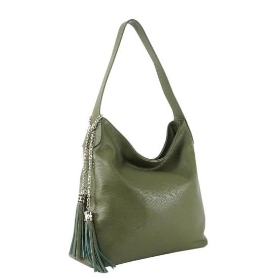 Чанта естествена кожа 117green