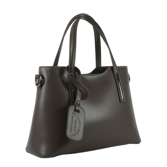 Чанта естествена кожа 201brown