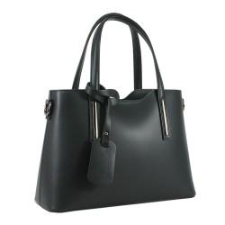 Чанта естествена кожа 201black