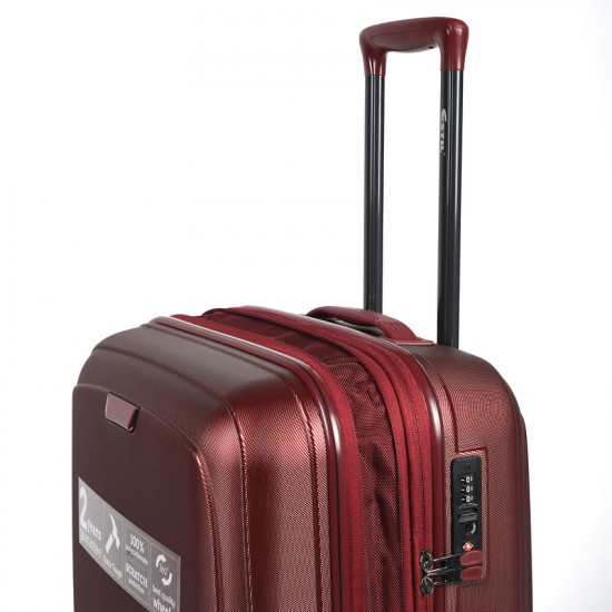 Куфар Естил, модел IQ - bordo - 76см.