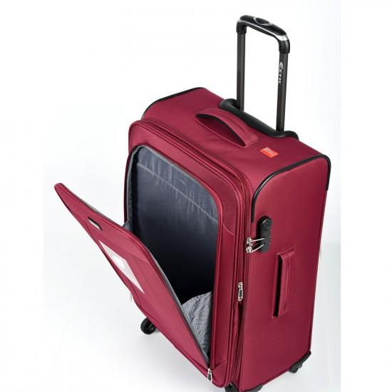 Куфар Естил, модел Explorer - бордо - 82см