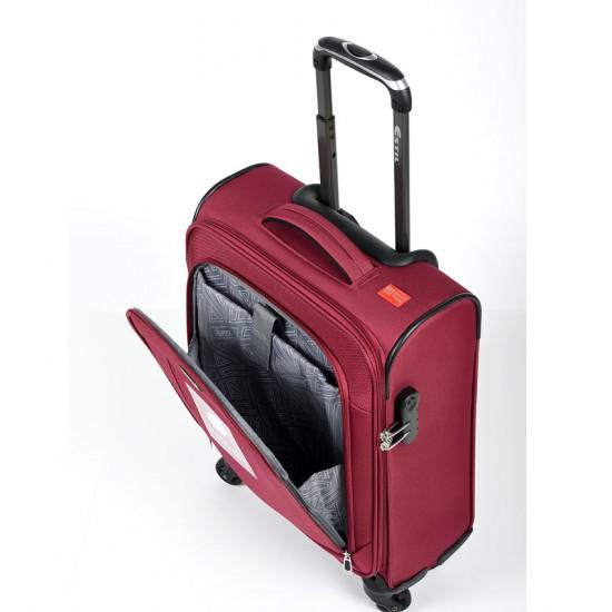 Куфар Естил, модел Explorer - бордо - 55см