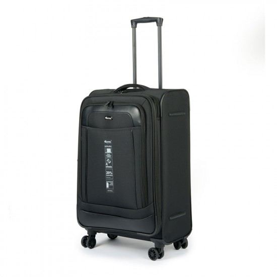 Куфар Естил, модел Spark - Черен - 78см