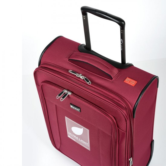 Куфар Естил, модел Vapor - бордо - 55см