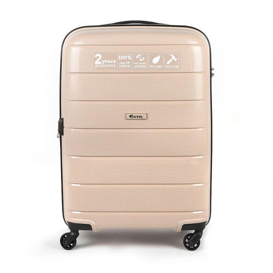 Куфар Естил, модел Blend - бежов - 76см