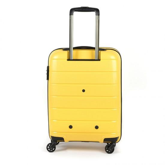 Куфар Естил, модел Blend - жълт - 55см