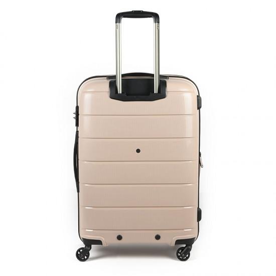Куфар Естил, модел Blend - бежов - 65см