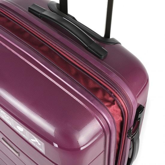 Куфар Естил, модел Blend - лилав - 76см