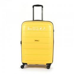 Куфар Естил, модел Blend - жълт - 65см