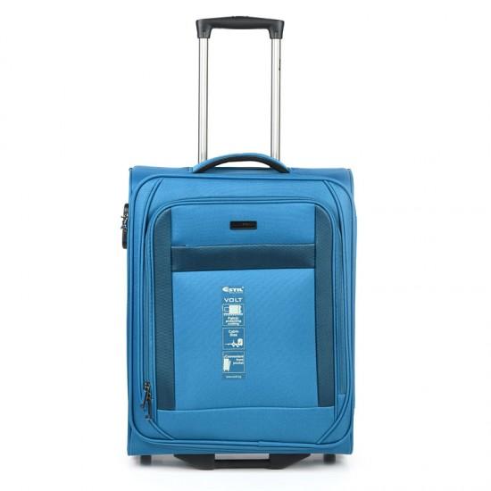 Куфар Естил, модел Volt - син - 55см