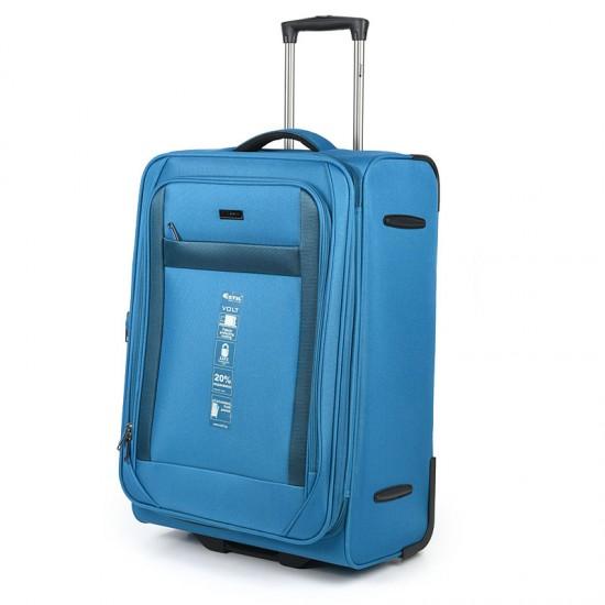 Куфар Естил, модел Volt - син - 65см