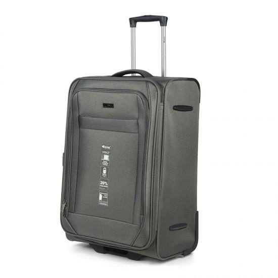Куфар Естил, модел Volt - сив - 75см