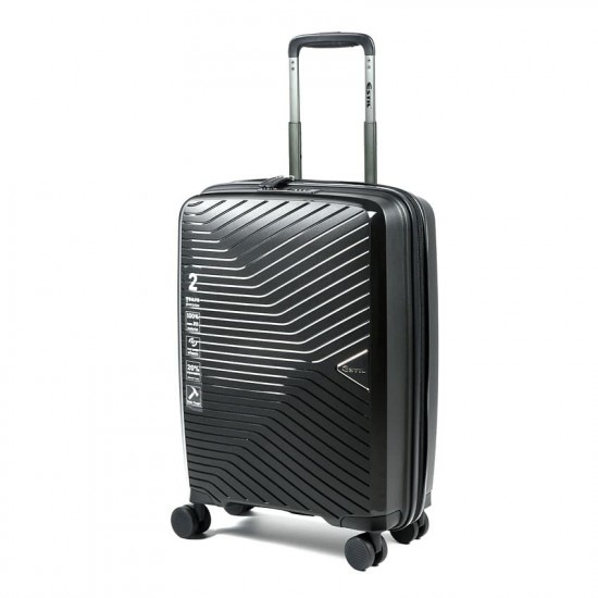 Куфар Естил, модел Spirit - Черен - 55см