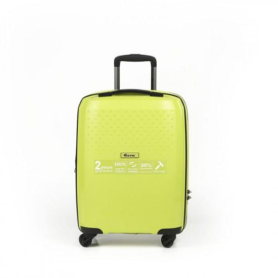 Куфар Естил, модел DOT - green - 55см.