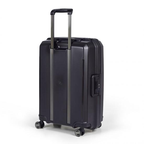 Куфар Естил, модел Shell - черен - 76см