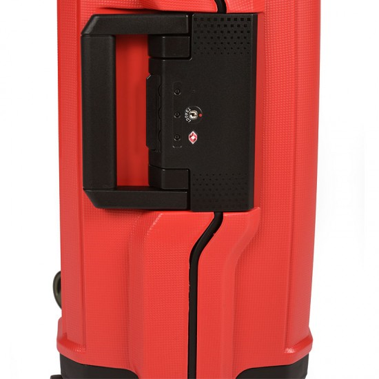 Куфар Естил, модел Shell - червен - 55см