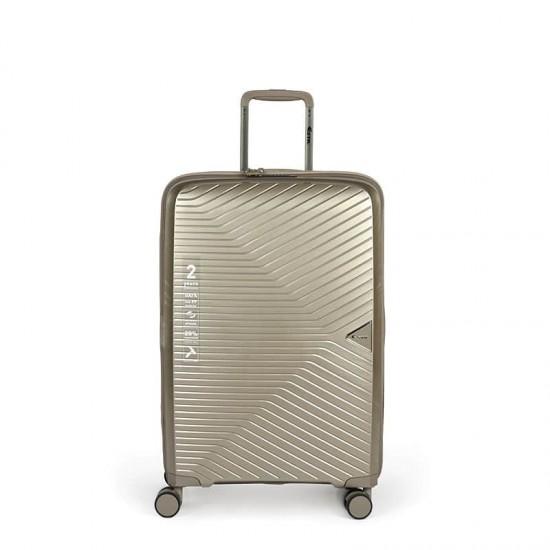 Куфар Естил, модел Spirit - Златен - 55см