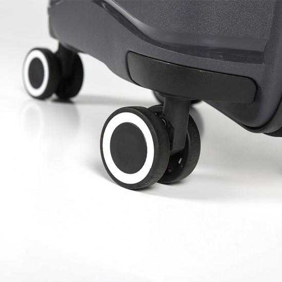 Куфар Естил, модел Waves -тъмно сив - 55см