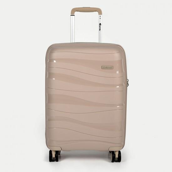 Куфар Естил, модел Waves - бежов - 55см