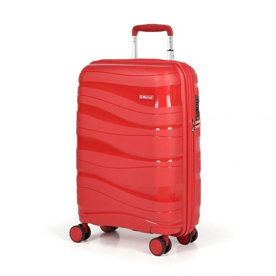 Куфар Естил, модел Waves - червен - 55см