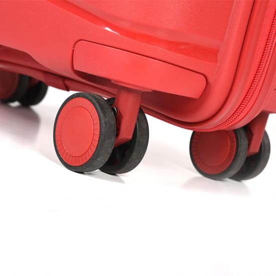 Куфар Естил, модел Waves - червен - 79см